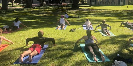 August Yoga With A Vue tickets