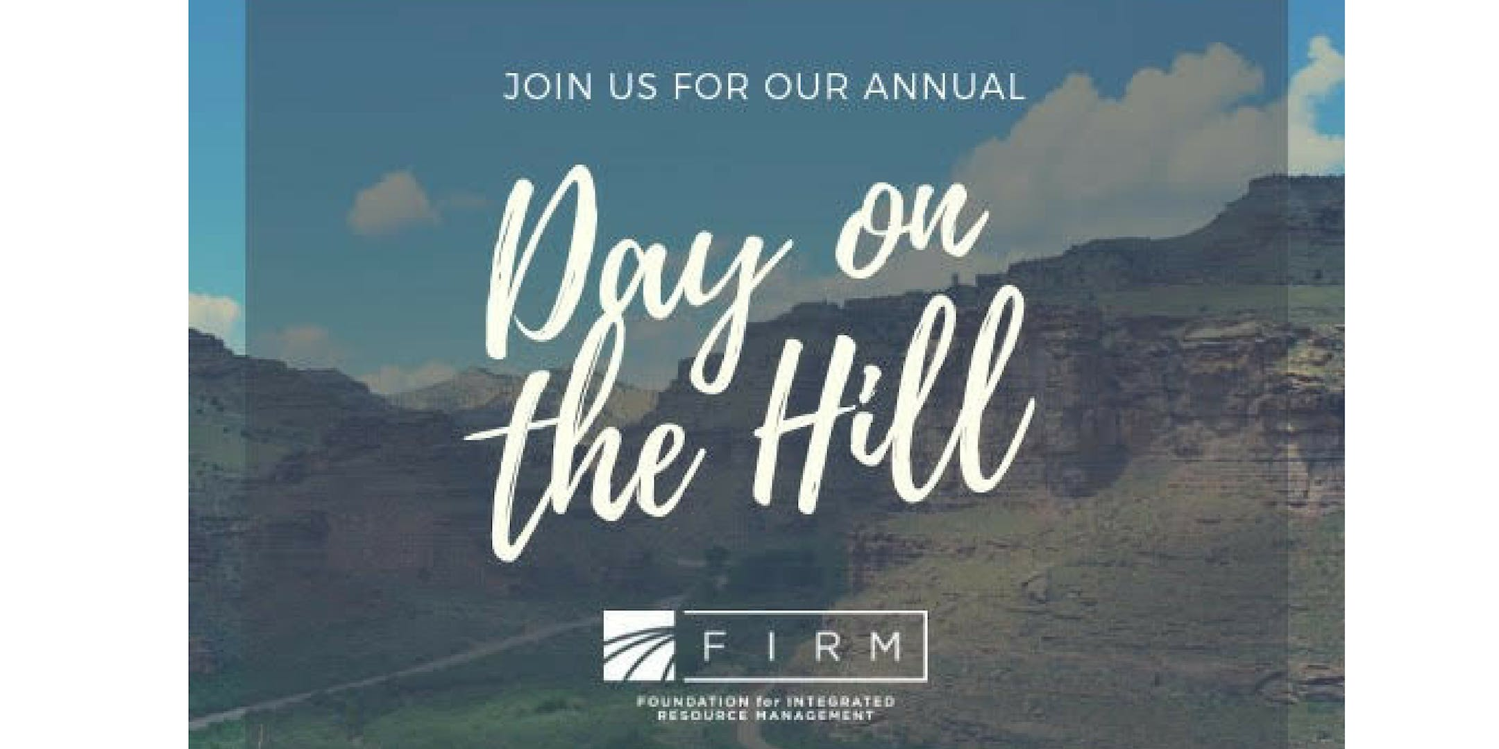 FIRM Day on the Hill