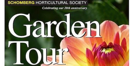 Anniversary Garden Tour tickets