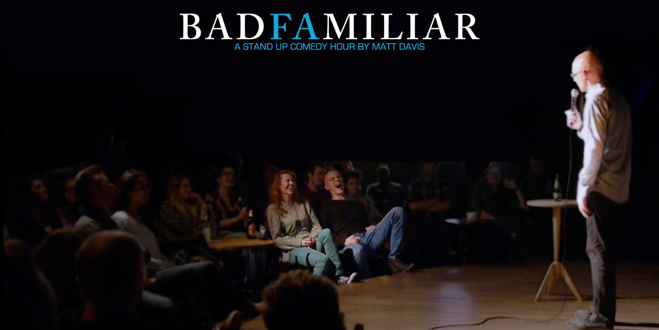 Munich English Comedy Night: Matt Davis' BadF