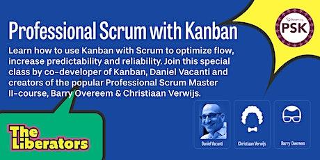 Professional Scrum with Kanban tickets