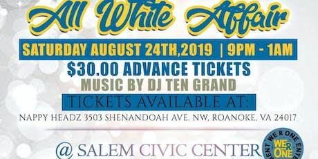 William Fleming Alumni & Friends All White Affair tickets