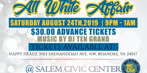William Fleming Alumni & Friends All White Affair