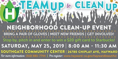 Southgate neighborhood clean-up event