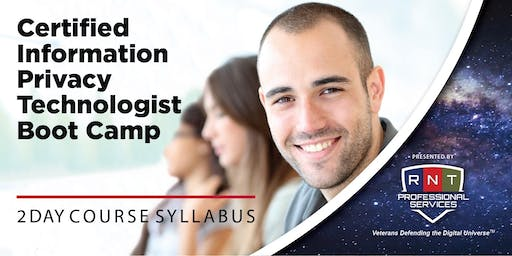 Certified Information Privacy Technologist (CIPT) Boot Camp