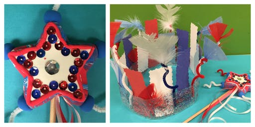 Mommy's Time Off- 4th of July Crafts (3-9 Years)