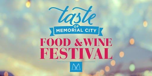 First Annual Taste of Memorial City Food & Wine Festival