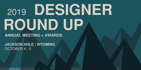 2019 Designer Round-Up - Sponsorship Registration tickets