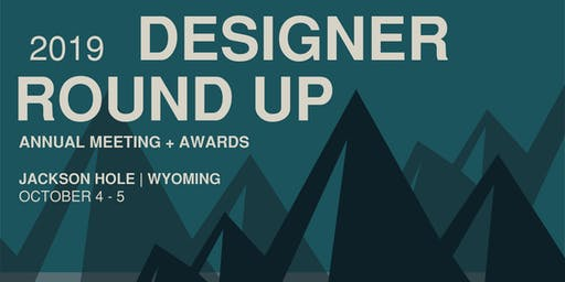 2019 Designer Round-Up - Sponsorship Registration