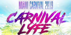 MIAMI CARNIVAL 2019 VIP WEEKEND PASSES  THURSDAY OCT...