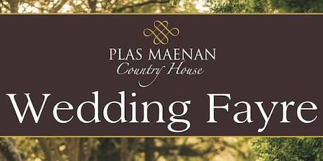 Plas Maenan Wedding Fayre tickets