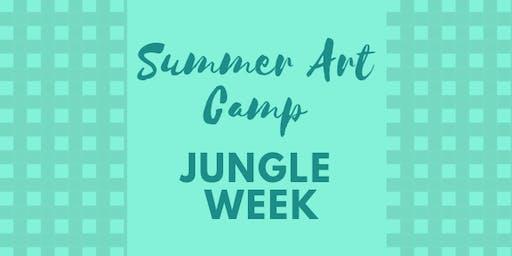 Summer Art Camp - Jungle Week