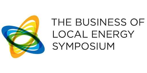 Business of Local Energy Symposium 2019