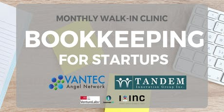 Bookkeeping for Startups - Monthly Walk-in Clinic tickets