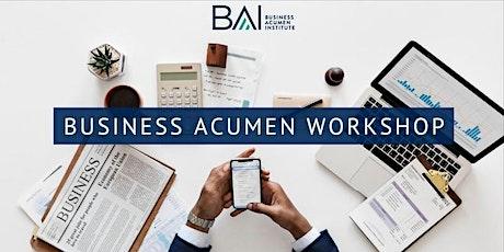 Business Acumen  Workshop tickets