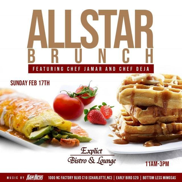 99a2927c4c8e EXPLICT BISTRO   LOUNGE NBA ALL-STAR BRUNCH - 17 FEB 2019