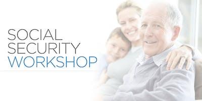 Social Security Maximization & Tax Reduction Workshop