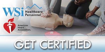WSi Healthcare - AHA CPR - Healthcare Provider Class Colorado Springs Q4
