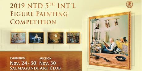 The Exhibition of 2019 NTDTV 5th International Figure Painting Competition tickets