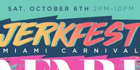 JERK FEST MIAMI W/ Unlimited Jerk Chicken & RumPunch tickets
