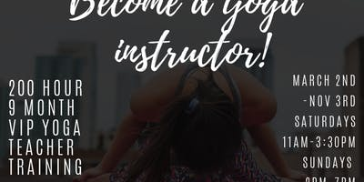 Become a Yoga Instructor!