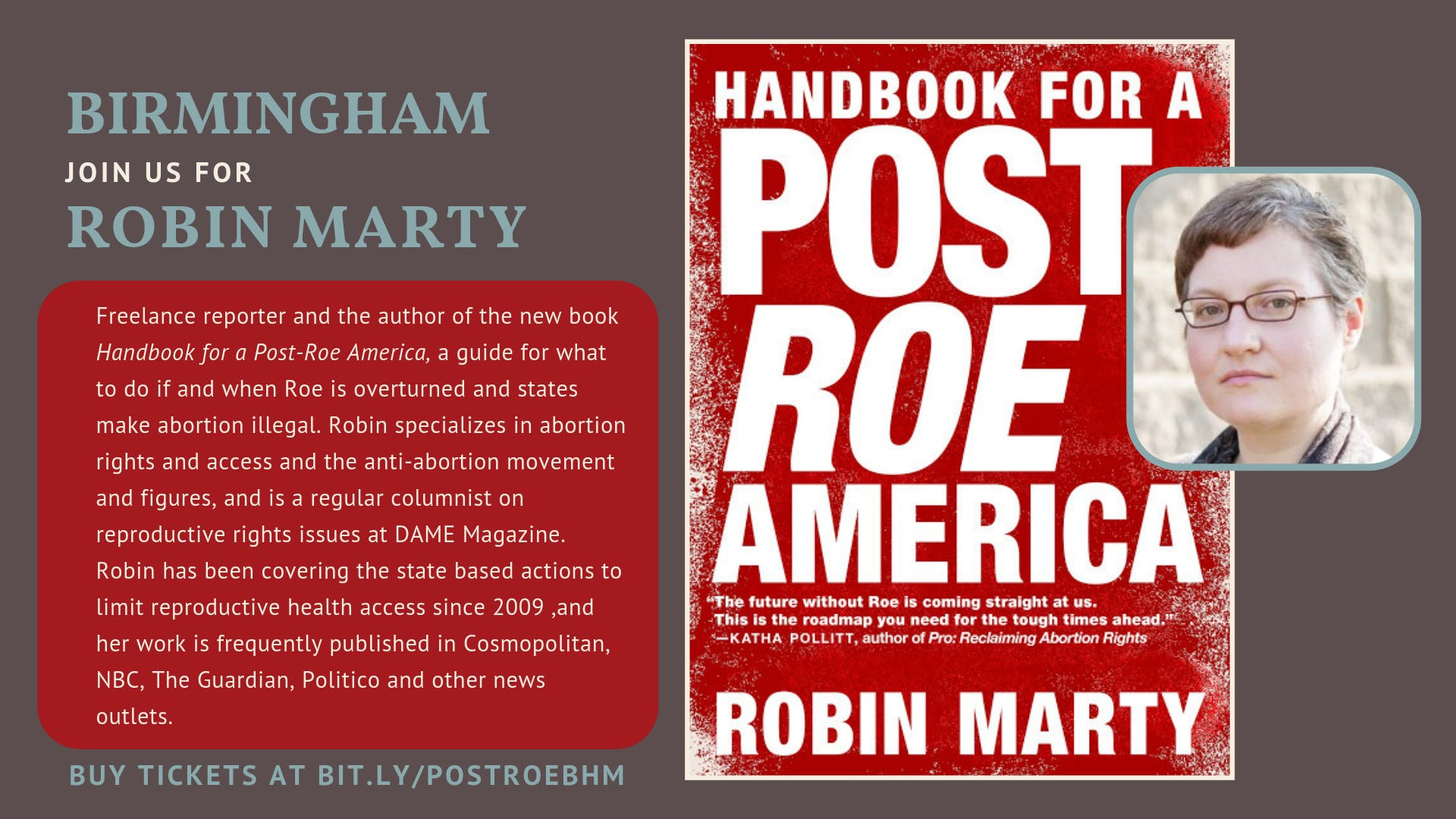 Yellowhammer Fund Presents: Robin Marty