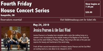Fourth Friday House Concerts presents Jessica Pearson & the East Wind