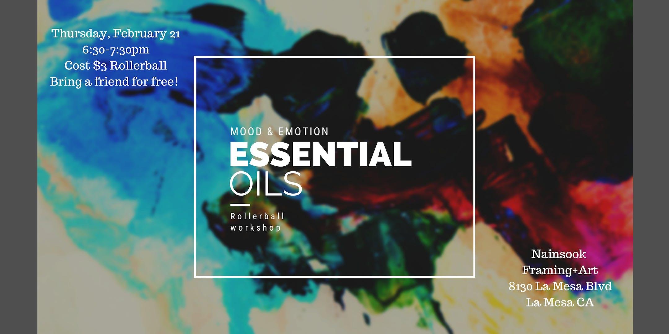 Essential Oil Rollerball Workshop