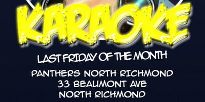 Karaoke at North Richmond Panthers