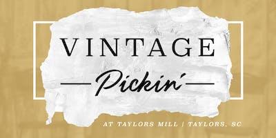 Vintage Pickin' at Taylor's Mill (Taylors, SC)