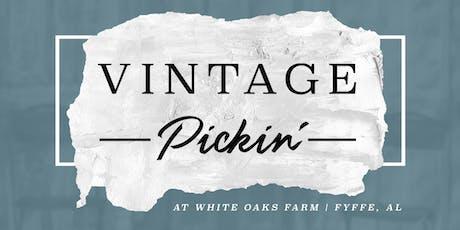 Vintage Pickin' at White Oaks Farm (Fyffe, AL) tickets