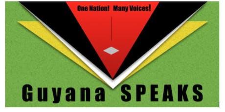 GUYANA SPEAKS-SUGAR: RUM & RHYME tickets