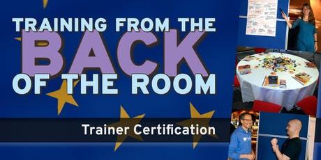 Certification Package for «Training from the BACK of the Room!» tickets