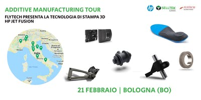AM Tour: Flytech presenta la tecnologia di stampa 3D HP Jet Fusion