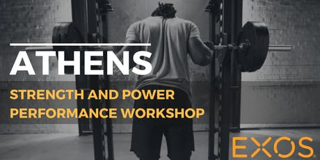EXOS Strength & Power Performance Workshop tickets