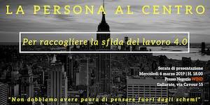 """APERITIVO + Presentazione per-corso """"La Persona al..."""