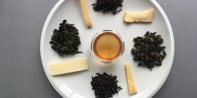 Un parcours gustatif de grands thés : fromages et thés - Incredible Oasis Ciaco