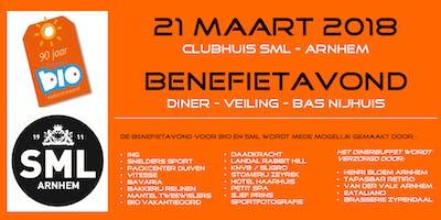 Benefietavond SML Arnhem en BIO Vakantieoord 21 maart 2019