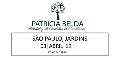 SÃO PAULO - WORKSHOP DE CONSTELAÇÕES FAMILIARES POR PATRICIA BELDA