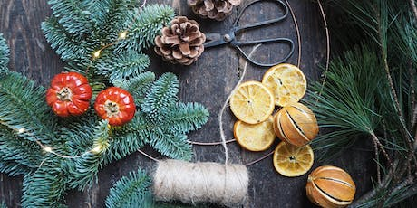 Christmas Wreath Workshop With Bramble & Wild (Afternoon) tickets