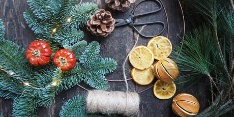 Christmas Wreath Workshop With Bramble & Wild (Morning) tickets