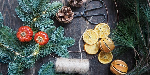 Christmas Wreath Workshop With Bramble & Wild (Morning)
