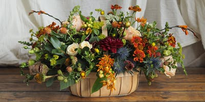 Autumn Garden Trug Workshop With Bramble & Wild