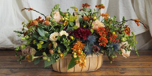 Autumn Garden Trug Workshop With Bramble & Wild