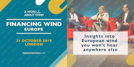 Financing Wind Europe 2019 tickets