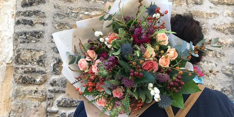 Autumn Hand-tied Bouquet Workshop With Bramble & Wild tickets