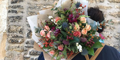 Autumn Hand-tied Bouquet Workshop With Bramble & Wild