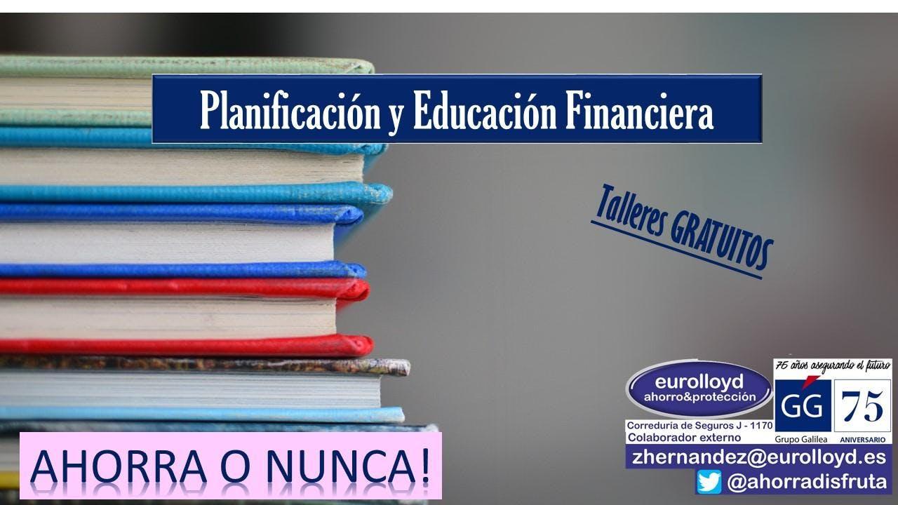 Conferencia de EDUCACIÓN FINANCIERA