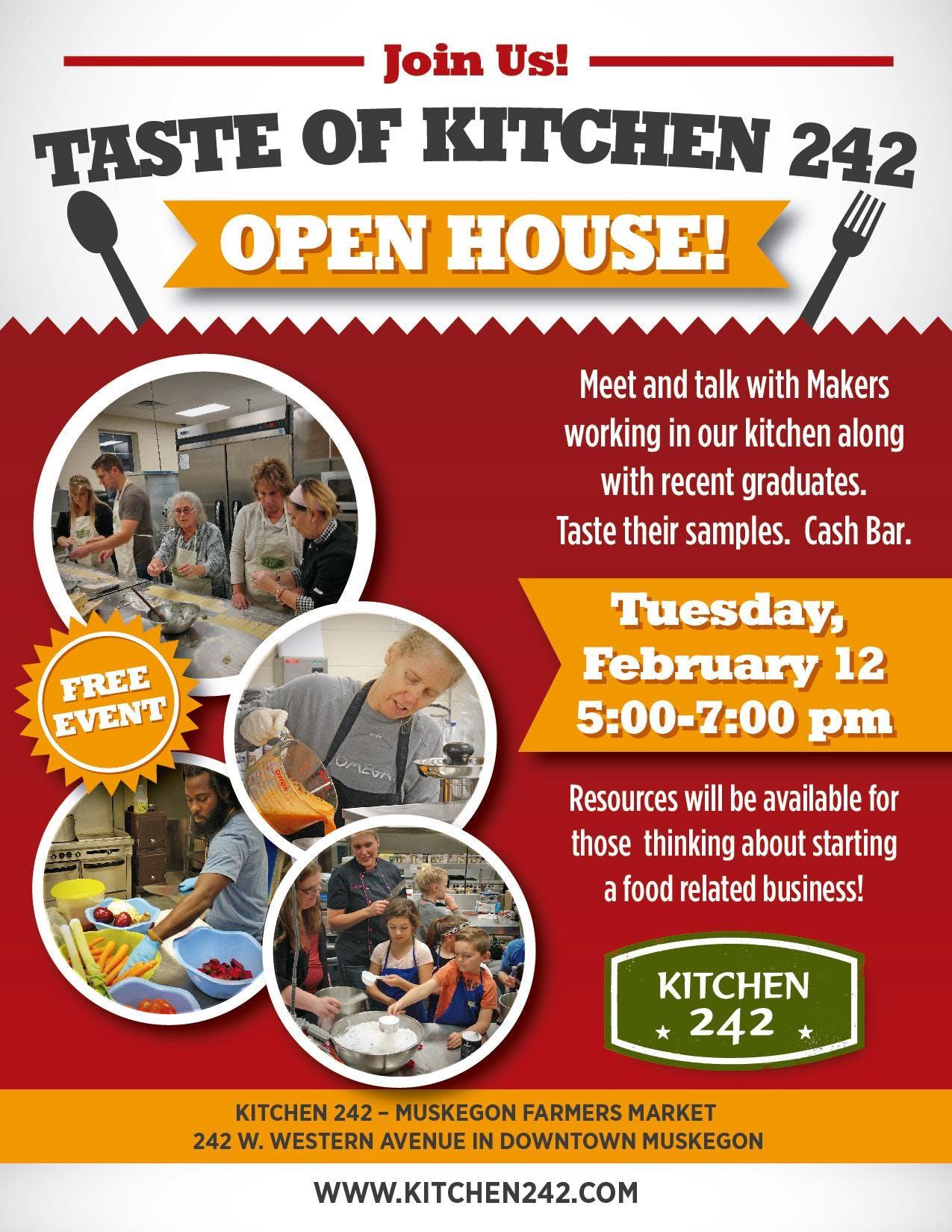 Taste of KItchen 242 Open House
