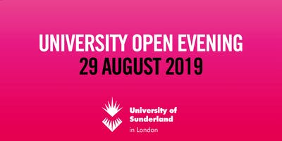 University of Sunderland in London Open Evening
